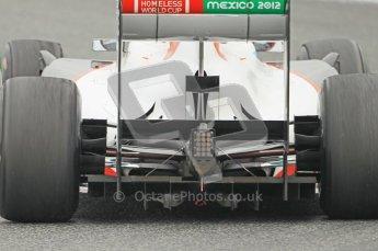 World © Octane Photographic 2011. Formula 1 testing Wednesday 9th March 2011 Circuit de Catalunya. Sauber C30 - Kamui Kobayashi. Diffuser. Digital ref : 0020CB1D1807