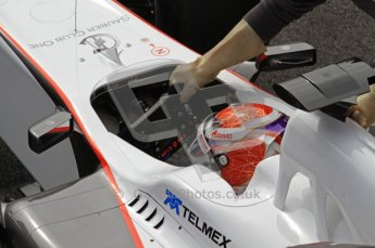 World © Octane Photographic 2011. Formula 1 testing Wednesday 9th March 2011 Circuit de Catalunya. Sauber C30 - Kamui Kobayashi. Digital ref : 0020LW7D0446