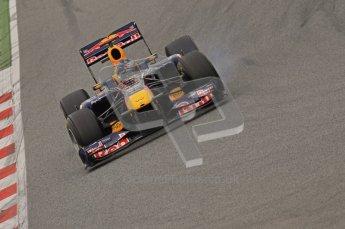 World © Octane Photographic 2011. Formula 1 testing Wednesday 9th March 2011 Circuit de Catalunya. Red Bull RB7 - Sebastian Vettel. Digital ref : 0020LW7D8800