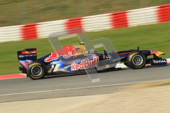 World © Octane Photographic 2011. Formula 1 testing Thursday 10th March 2011 Circuit de Catalunya. Digital ref : 0023CB1D3234