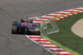 World © Octane Photographic 2011. Formula 1 testing Thursday 10th March 2011 Circuit de Catalunya. Toro Rosso STR6 - Jamie Alguersuari. Digital ref : 0023LW7D1757