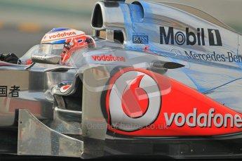 World © Octane Photographic 2011. Formula 1 testing Friday 11th March 2011 Circuit de Catalunya. McLaren MP4/26 - Jenson Button. Digital ref : 0022CB1D3606