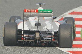 World © Octane Photographic 2011. Formula 1 testing Friday 11th March 2011 Circuit de Catalunya. Sauber C30 - Kamui Kobayashi. Digital ref : 0022CB1D3686