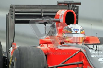 World © Octane Photographic 2011. Formula 1 testing Friday 11th March 2011 Circuit de Catalunya. Virgin MVR-02 - Jerome d'Ambrisio. Digital ref : 0022CB1D3848