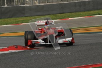 World © Octane Photographic 2011. Formula 1 testing Friday 11th March 2011 Circuit de Catalunya.  Digital ref : 0022LW7D2039