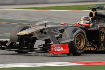World © Octane Photographic 2011. Formula 1 testing Friday 11th March 2011 Circuit de Catalunya. Renault R31 - Nick Heidfeld. Digital ref : 0022LW7D2185