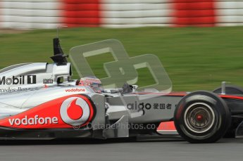 World © Octane Photographic 2011. Formula 1 testing Friday 11th March 2011 Circuit de Catalunya. McLaren MP4/26 - Jenson Button. Digital ref : 0022LW7D2889