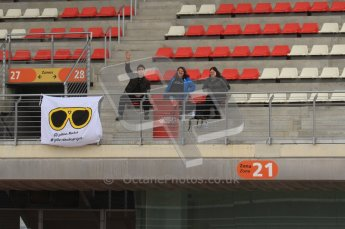 World © Octane Photographic 2011. Formula 1 testing Friday 11th March 2011 Circuit de Catalunya. Yellow Shades Project. Digital ref : 0022LW7D3179