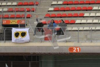 World © Octane Photographic 2011. Formula 1 testing Friday 11th March 2011 Circuit de Catalunya. Yellow Shades Project. Digital ref : 0022LW7D3179