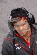World © Octane Photographic 2011. Formula 1 testing Friday 11th March 2011 Circuit de Catalunya. Sauber - Sergio Perez. Digital ref : 0022LW7D3388