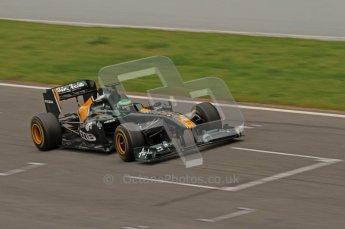 World © Octane Photographic 2011. Formula 1 testing Friday 11th March 2011 Circuit de Catalunya. Lotus T124 - Heikki Kovalainen. Digital ref : 0022LW7D3412