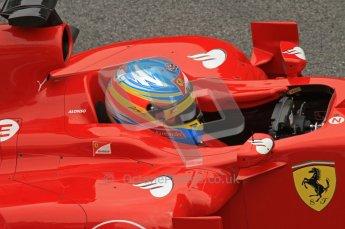 World © Octane Photographic 2011. Formula 1 testing Friday 11th March 2011 Circuit de Catalunya. Ferrari 150° Italia - Fernando Alonso. Digital ref : 0022LW7D3448