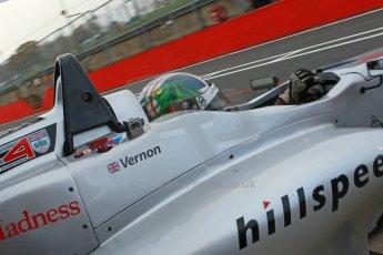 World © Octane Photographic Ltd. Brands Hatch, Qualifying, Saturday 23rd November 2013. BRDC Formula 4 Winter Series, MSV F4-13,  – Kieran Vernon - Hillspeed. Digital Ref : 0863cb1d3165