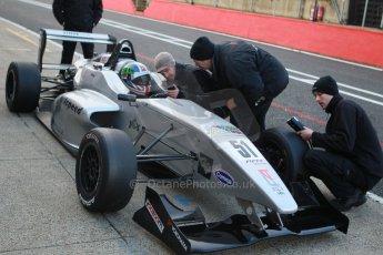 World © Octane Photographic Ltd. Brands Hatch, Qualifying, Saturday 23rd November 2013. BRDC Formula 4 Winter Series, MSV F4-13,  – Kieran Vernon - Hillspeed. Digital Ref : 0863cb1d3180