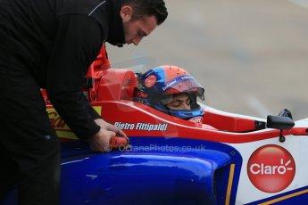 World © Octane Photographic Ltd. Brands Hatch, Qualifying, Saturday 23rd November 2013. BRDC Formula 4 Winter Series, MSV F4-13, Pietro Fittipaldi – MGR. Digital Ref : 0863lw1d6500