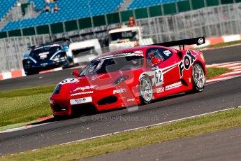 © 2012 Chris Enion/Octane Photographic Ltd. British GT Championship - Saturday 8th September 2012, Silverstone - Free Practice 1. Digital Ref :