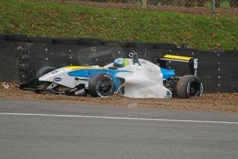 World © Octane Photographic Ltd. Brands Hatch, Race 3, Sunday 24th November 2013. BRDC Formula 4 Winter Series, MSV F4-13, Matteo Ferrer - MGR. Digital Ref : 0867cb1d7476
