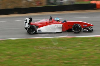 World © Octane Photographic Ltd. Brands Hatch, Race 3, Sunday 24th November 2013. BRDC Formula 4 Winter Series, MSV F4-13,  – Dimitris Papanastasiou - Hillspeed. Digital Ref : 0867cb1d7569