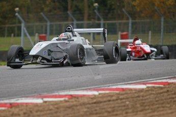 World © Octane Photographic Ltd. Brands Hatch, Race 4, Sunday 24th November 2013. BRDC Formula 4 Winter Series, MSV F4-13,  – Kieran Vernon - Hillspeed. Digital Ref : 0868cb1d7831