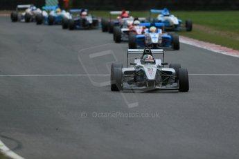 World © Octane Photographic Ltd. Brands Hatch, Race 4, Sunday 24th November 2013. BRDC Formula 4 Winter Series, MSV F4-13,  – Kieran Vernon - Hillspeed. Digital Ref : 0868lw1d7660