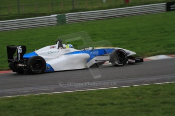 World © Octane Photographic Ltd. Brands Hatch, Race 4, Sunday 24th November 2013. BRDC Formula 4 Winter Series, MSV F4-13, Matteo Ferrer - MGR. Digital Ref : 0868lw7d4588