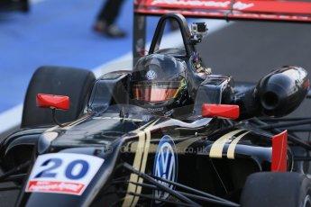 World © Octane Photographic Ltd. FIA European F3 Championship, Silverstone Free Practice 1, UK, Friday 10th April 2015. Signature – Dorian Boccolacci, Dallara F312 – Volkswagen. Digital Ref : 1217LB1D5085