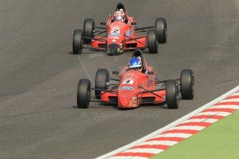 World © Octane Photographic Ltd. British Formula Ford – Brands Hatch, September 2nd 2011. Jamun Racing - Jeroen Slaghekke and Scott Malvern. Digital Ref : 0875cb1d1471