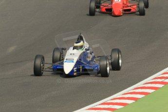 World © Octane Photographic Ltd. British Formula Ford – Brands Hatch, September 2nd 2011. Fluid Motorsport - Matt Rao. Digital Ref : 0875cb1d1475