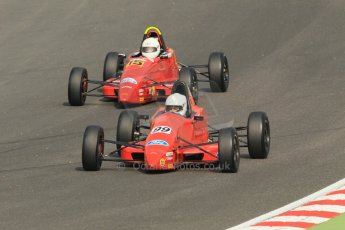 World © Octane Photographic Ltd. British Formula Ford – Brands Hatch, September 2nd 2011. Jamun Racing - Chrissy Palmer and Cliff Dempsey Racing - Cavan Corcoran. Digital Ref : 0875cb1d1483
