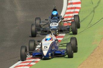 World © Octane Photographic Ltd. British Formula Ford – Brands Hatch, September 2nd 2011. Rendez-Vous Racing / Enigma Motorsport - Philippe Layac. Fluid Motorsport - Matt Parry. Digital Ref : 0875cb1d1628