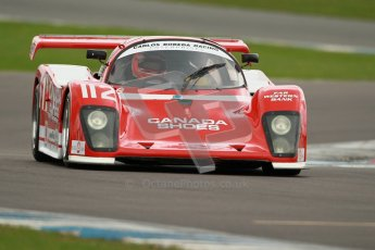 © Octane Photographic Ltd. 2012 Donington Historic Festival. Group C sportscars, qualifying. Tiga GT287 - Jonathan Fay. Digital Ref : 0320cb1d8705
