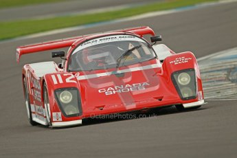 © Octane Photographic Ltd. 2012 Donington Historic Festival. Group C sportscars, qualifying. Tiga GT287 - Jonathan Fay. Digital Ref : 0320cb1d8894