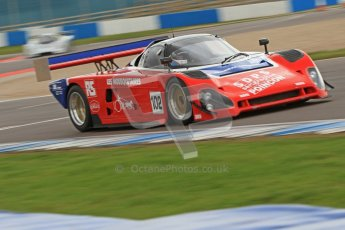 © Octane Photographic Ltd. 2012 Donington Historic Festival. Group C sportscars, qualifying. Spice SE89C - Peter Meyrick. Digital Ref : 0320cb7d0243