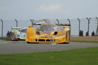 © Octane Photographic Ltd. 2012 Donington Historic Festival. Group C sportscars, qualifying. Nissan R90 CK - Steve Tandy. Digital Ref : 0320lw7d9475