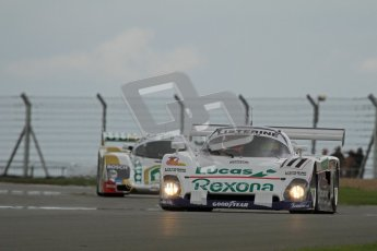 © Octane Photographic Ltd. 2012 Donington Historic Festival. Group C sportscars, qualifying. Spice SE88 - Mike Donovan. Digital Ref : 0320lw7d9598