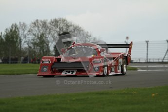 © Octane Photographic Ltd. 2012 Donington Historic Festival. Group C sportscars, qualifying. Veskanda - Paul Stubber. Digital Ref : 0320lw7d9673