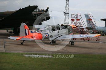 World © Octane Photographic Ltd. October 6th 2015. RAF Coningsby. Battle of Britain Memorial Flight (BBMF) de Havilland Chipmunk WK518. Digital Ref : 1454CB1D6538