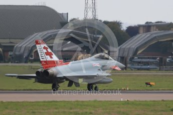 World © Octane Photographic Ltd. October 6th 2015. RAF Coningsby. Eurofighter FGR.4 ZK315, 41Sqn - 100th anniversary of the squadron's founding livery. Digital Ref : 1454CB1D6748