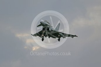 "World © Octane Photographic Ltd. October 6th 2015. RAF Coningsby. RAF Coningsby. Eurofighter Typhoon T.3 ZK379 ""BB"", 29Sqn. Digital Ref :  1454CB1D6869"