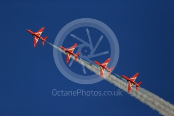 World © Octane Photographic Ltd. 9th December 2015 RAF Scampton – Red Arrows display team practice. Digital Ref : 1493CB1D1908