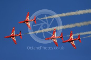 World © Octane Photographic Ltd. 9th December 2015 RAF Scampton – Red Arrows display team practice. Digital Ref : 1493CB1D2061