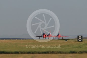 World © Octane Photographic Ltd. 9th December 2015 RAF Scampton – Red Arrows display team practice. Digital Ref : 1493CB1D2178