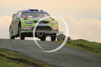© North One Sport Limited 2010/ Octane Photographic Ltd. 2010 WRC Great Britain, Saturday 13th November 2010. Digital ref : 0118cb1d2133