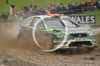 © North One Sport Limited 2010/ Octane Photographic Ltd. 2010 WRC Great Britain, Sunday 14th November 2010. Digital ref : 0120cb1d0225