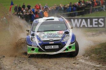 © North One Sport Limited 2010/ Octane Photographic Ltd. 2010 WRC Great Britain, Sunday 14th November 2010. Digital ref : 0120cb1d0251