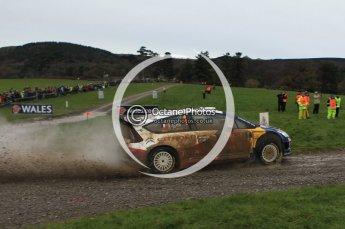 © North One Sport Limited 2010/ Octane Photographic Ltd. 2010 WRC Great Britain, Sunday 14th November 2010, Sebastien Loeb/Daniel Elena, Citroen C4 WRC. Digital ref : 0120lw1d0041