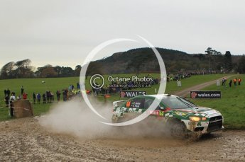 © North One Sport Limited 2010/ Octane Photographic Ltd. 2010 WRC Great Britain, Sunday 14th November 2010. Digital ref : 0120lw1d0557