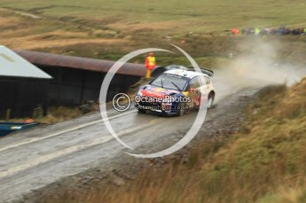 © North One Sport Limited 2010/ Octane Photographic Ltd. 2010 WRC Great Britain, Friday 12th November 2010. Digital ref : 0117lw1d3125