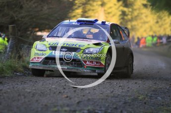 © North One Sport Limited 2010/ Octane Photographic Ltd. 2010 WRC Great Britain, Saturday 13th November 2010. Digital ref : 0119cb1d1628
