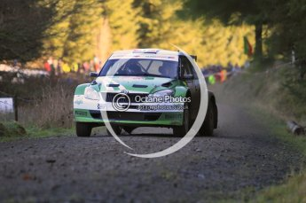 © North One Sport Limited 2010/ Octane Photographic Ltd. 2010 WRC Great Britain, Saturday 13th November 2010. Digital ref : 0119cb1d1644
